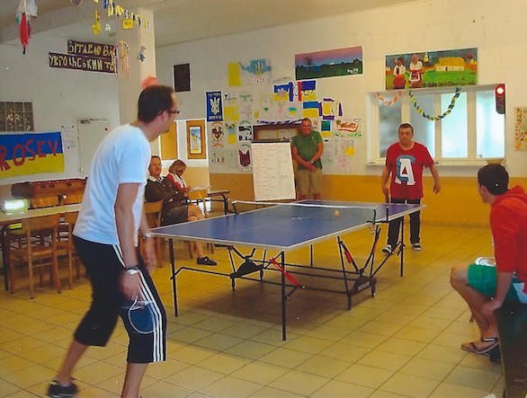 FINAL DU TOURNOI DE PING-PONG AU CENTRE